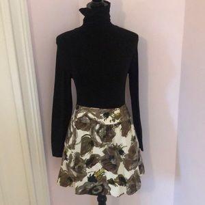 Fall Print Skirt